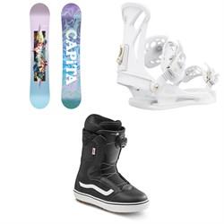 CAPiTA Paradise Snowboard + Union Juliet Snowboard Bindings + Vans Encore OG Snowboard Boots - Women's 2021