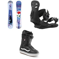 CAPiTA Space Metal Fantasy Snowboard + Union Rosa Snowboard Bindings + Vans Encore OG Snowboard Boots - Women's 2021