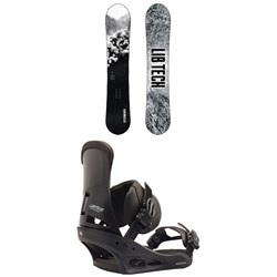 Lib Tech Cold Brew C2 Snowboard ​+ Burton Custom Snowboard Bindings