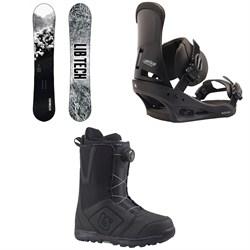 Lib Tech Cold Brew C2 Snowboard  + Burton Custom Snowboard Bindings  + Moto Boa Snowboard Boots 2018