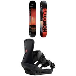 Salomon Pulse Snowboard  + Burton Freestyle Snowboard Bindings 2019