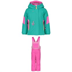 Obermeyer Harper Jacket ​+ Disco Bibs - Little Girls'