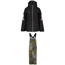 Obermeyer Fleet Jacket + Connor Bib Pants - Boys'