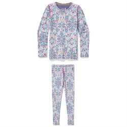 Smartwool Merino 250 Baselayer Pattern Crew ​+ Pattern Bottoms - Girls'