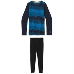 Smartwool Merino 250 Baselayer Pattern Crew ​+ Merino 250 Baselayer Bottoms - Kids'