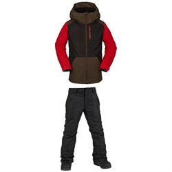 Volcom Vernon Insulated Jacket ​+ Freakin Snow Chino Pants - Boys'