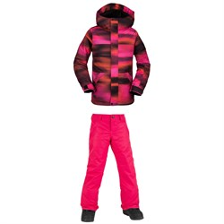 Volcom Sass'N'Fras Insulated Jacket ​+ Frochickidee Insulated Pants - Girls'
