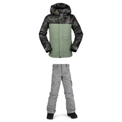 Volcom Sass'N'Fras Insulated Jacket ​+ Silver Pine Insulated Pants - Girls'