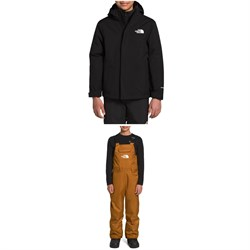 The North Face Freedom Triclimate Jacket - Boys' + Freedom Insulated Bibs - Kids'