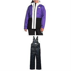 The North Face Freedom Insulated Jacket - Girls' ​+ Freedom Insulated Bibs - Big Kids'