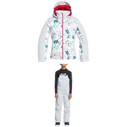 Roxy Delski Jacket ​+ Non Stop Bib Pants - Girls'