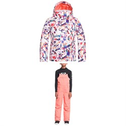 Roxy Jetty Jacket  ​+ Non Stop Bib Pants - Girls'