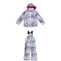 Roxy Mini Jetty Jacket + Lola Printed Pants - Little Girls'