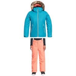 Roxy American Pie Solid Jacket + Backyard Pants - Girls'