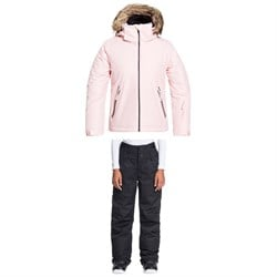 Roxy American Pie Solid Jacket ​+ Diversion Pants - Girls'