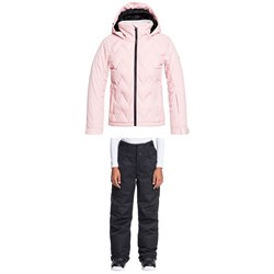 Roxy Breeze Jacket ​+ Diversion Pants - Girls'
