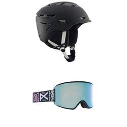 Anon Omega MIPS Helmet + WM3 MFI Goggles - Women's