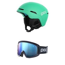 POC Obex SPIN + POC Opsin Clarity Comp Goggles