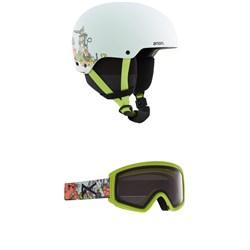 Anon Rime 3 Helmet + Tracker 2.0 Goggles - Kids'