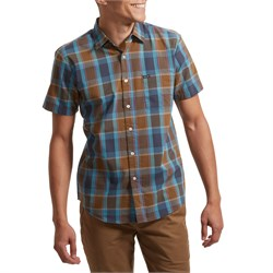 Brixton Charter Plaid Short-Sleeve Shirt