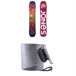 Jones Dream Catcher Splitboard - Women's 2021 ​+ Nomad Quick Tension Tail Clip Splitboard Skins