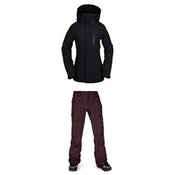Volcom Eva Insulated GORE-TEX Jacket ​+ Aston GORE-TEX Pants - Women's