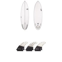 Lib Tech Nude Bowl Surfboard ​+ Tri Medium Fin Set