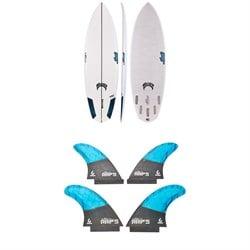 Lib Tech x Lost Rocket Redux Surfboard + Lib Tech Quad Fin Set