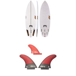 Lib Tech x Lost Rocket Redux Surfboard ​+ Lib Tech Twin ​+ Trailer Fin Set