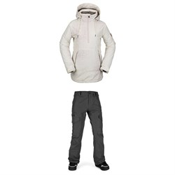 Volcom Fern Insulated GORE-TEX Pullover Jacket ​+ Aston GORE-TEX Pants - Women's