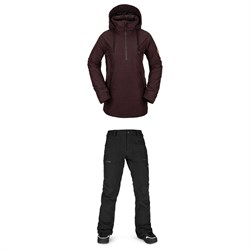 Volcom Fern Insulated GORE-TEX Pullover Jacket ​+ Knox Insulated GORE-TEX Pants - Women's