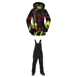 Volcom 3D Stretch GORE-TEX Jacket ​+ Elm GORE-TEX Bib Overalls - Women's