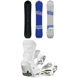 Salomon Ultimate Ride Snowboard ​+ Highlander Snowboard Bindings