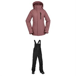 Volcom Eva Insulated GORE-TEX Jacket + VS Stretch GORE-TEX Bibs - Women's