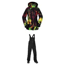 Volcom 3D Stretch GORE-TEX Jacket ​+ VS Stretch GORE-TEX Bibs - Women's