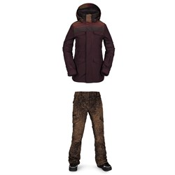 Volcom Leda GORE-TEX Jacket ​+ Aston GORE-TEX Pants - Women's