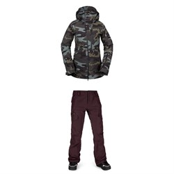 Volcom NYA TDS INF GORE-TEX Jacket ​+ Aston GORE-TEX Pants - Women's