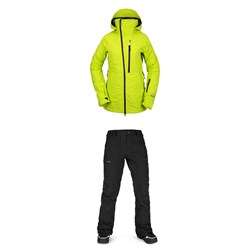 Volcom NYA TDS INF GORE-TEX Jacket ​+ Knox Insulated GORE-TEX Pants - Women's