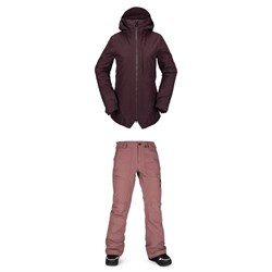 Volcom Iris 3-In-1 GORE-TEX Jacket ​+ Knox Insulated GORE-TEX Pants - Women's