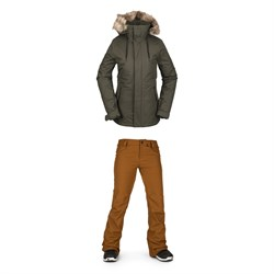 Volcom Fawn Insulated Jacket + Species Stretch Pants - Women's