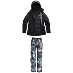 The North Face ThermoBall™ Eco Snow Triclimate® Jacket + Freedom Insulated Pants - Women's