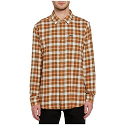 Volcom Repeater Long-Sleeve Flannel Shirt
