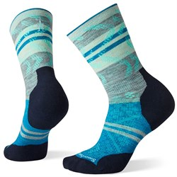 Smartwool PhD Run Light Elite Pattern Crew Socks - Women's