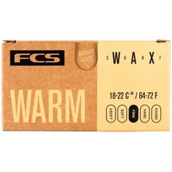 FCS Surf Wax - Warm
