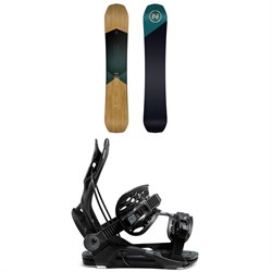 Nidecker Escape Snowboard ​+ Flow Fenix Snowboard Bindings 2021