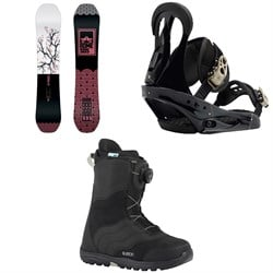 Rome Royal Snowboard  ​+ Burton Citizen Snowboard Bindings 2019 ​+ Mint Boa Snowboard Boots - Women's 2018