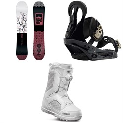 Rome Royal Snowboard  ​+ Burton Citizen Snowboard Bindings 2019 ​+ thirtytwo STW Boa Snowboard Boots - Women's
