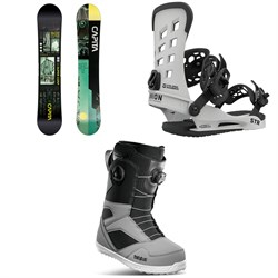 CAPiTA Outerspace Living Snowboard ​+ Union STR Snowboard Bindings ​+ thirtytwo STW Double Boa Snowboard Boots 2021