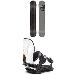 Arbor Wasteland Snowboard ​+ Cypress LTD Snowboard Bindings