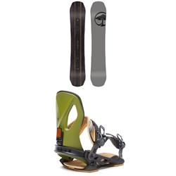 Arbor Wasteland Snowboard + Cypress LTD Snowboard Bindings